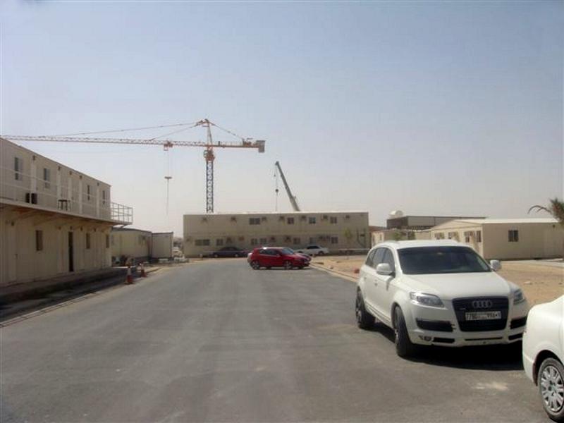 Labour Camp Jebel Ali Dubai Huber Czech Republic