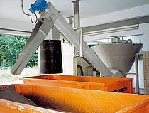 RoSF 3 COANDA Grit Classifier installation